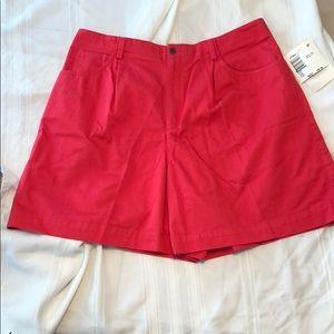 🌴LIZ Claiborne LIZSPORT shorts coral size 16 Flaw